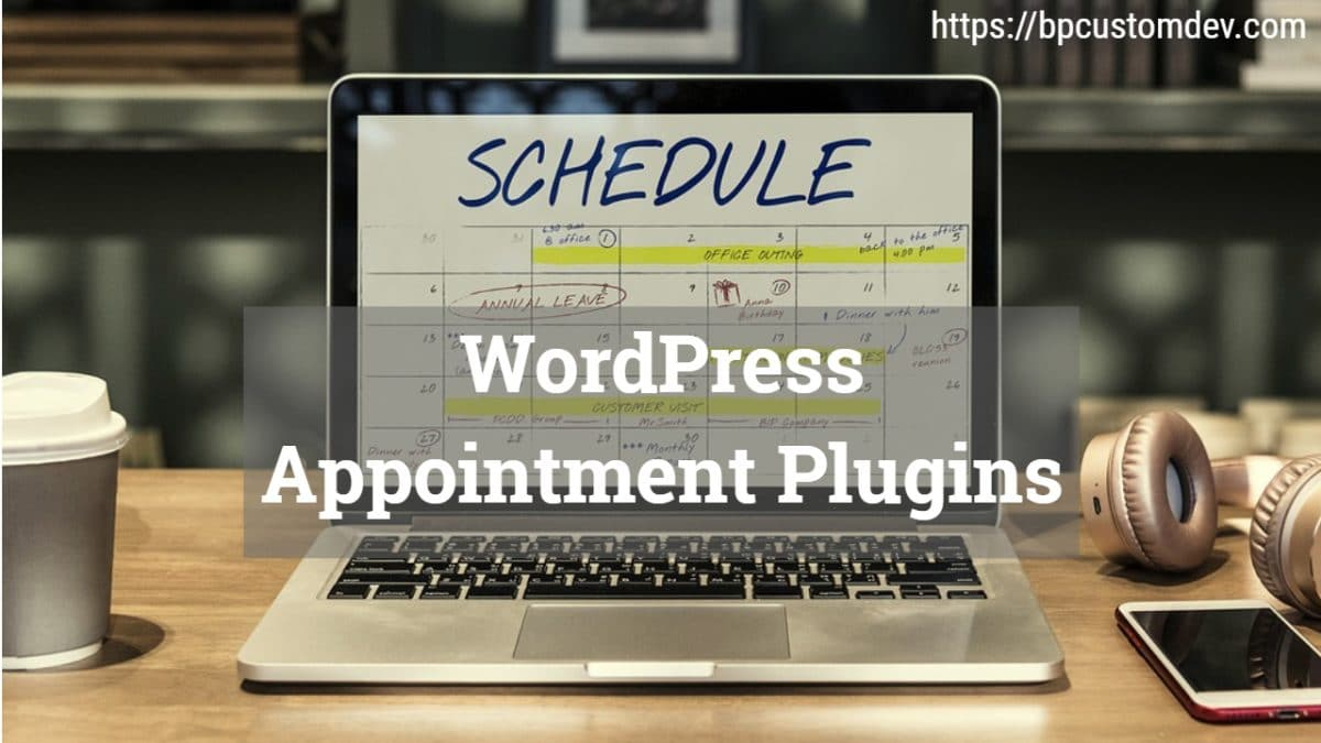 WordPress Appointment Plugins