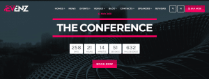 conference or event website