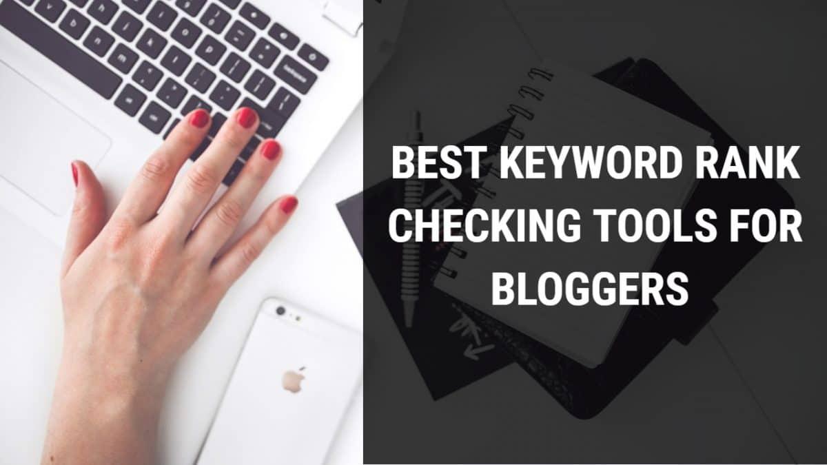 Keyword Rank Checking Tools