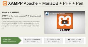 XAMPP wordpress development tool