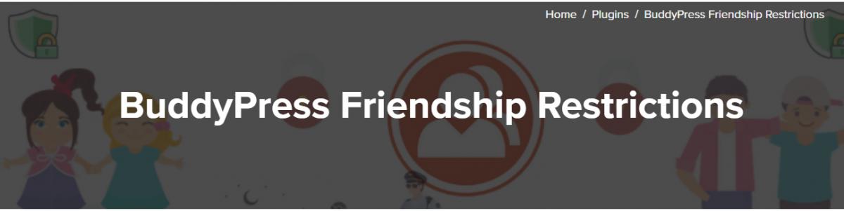 BuddyPress Friendship Restrictions