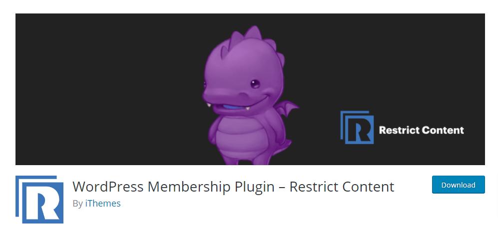 WordPress Membership Plugin – Restrict Content – WordPress plugin WordPress org